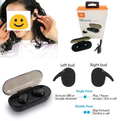 Jbl Tws4 Bluetooth Bt 5 0 Wireless Headphones Tws Earphones In Ear Sports Pods Fashion Earphones Mini In Ear Pods Xenonmart